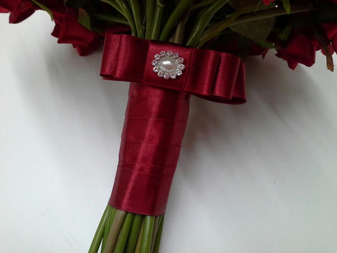 Buquê da noiva - Vermelho clássico