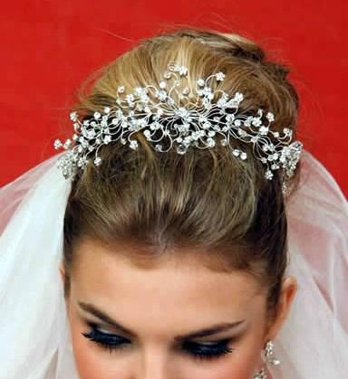 Tiara para noiva - casamento - Beleza Imensa