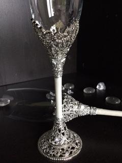 Taças para Casamento - Brinde dos Noivos - Magnifique