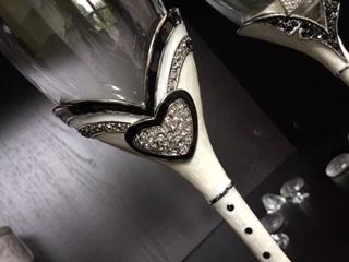 Taças para Casamento - Brinde dos Noivos - Sr e Sra