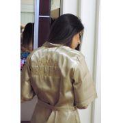 Robe para Noiva Personalizado  Noiva Mais Feliz do Mundo- Escolha a cor - JB01