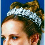 Tiara para noiva - casamento - Noiva Perfeita