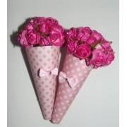 Sachê Perfumado Rosas - Lembrança de Casamento