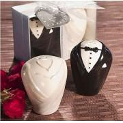 Porta Temperos Noivos Elegantes