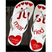 Chinelo para casamento - Personalizado IP39
