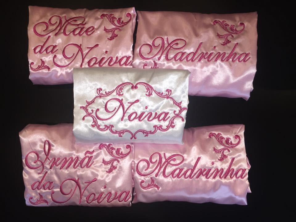 KITS de robes com desconto! de 3 a 20 unidades-Pink, Rosa ou Branco- Escolha a quantidade- A PARTIR DE R$ 209.50
