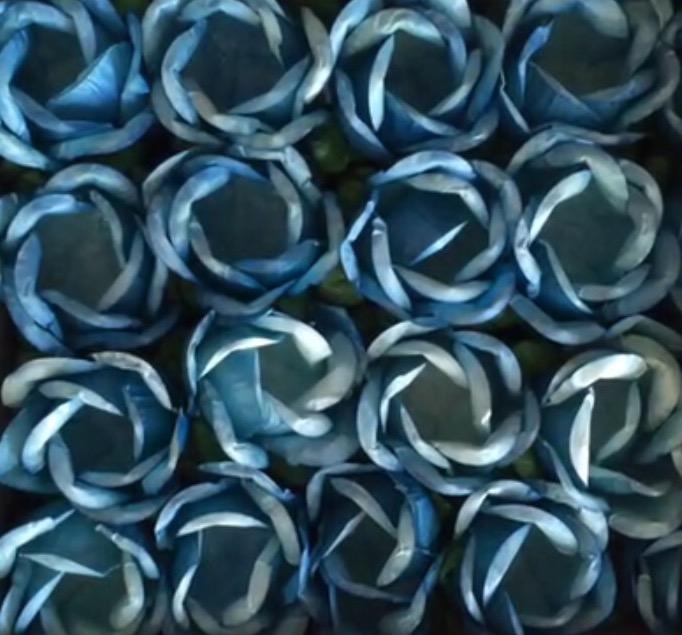 Forminha para Doces- Caixa com 40 unidades- Azul