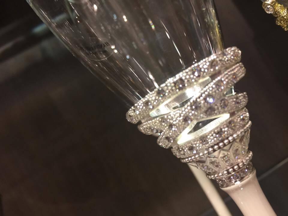 Taças para Casamento - Brinde dos Noivos - Entrelaçados