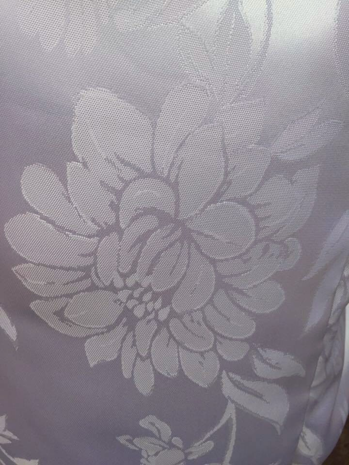 Robe Personalizado Noiva Estampado tecido especial