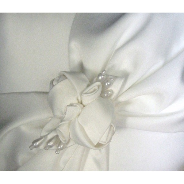 Almofada para Alianças Glam - Porta-Aliança de Casamento
