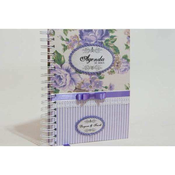 Agenda da noiva - Guia para Casamento - Lilac