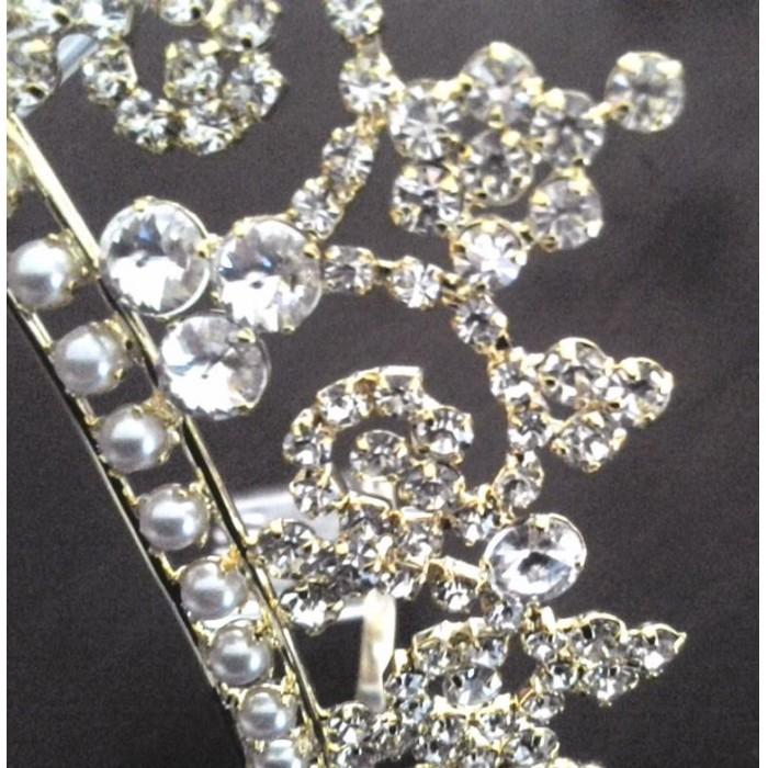 Coroa para noiva - casamento - Condessa