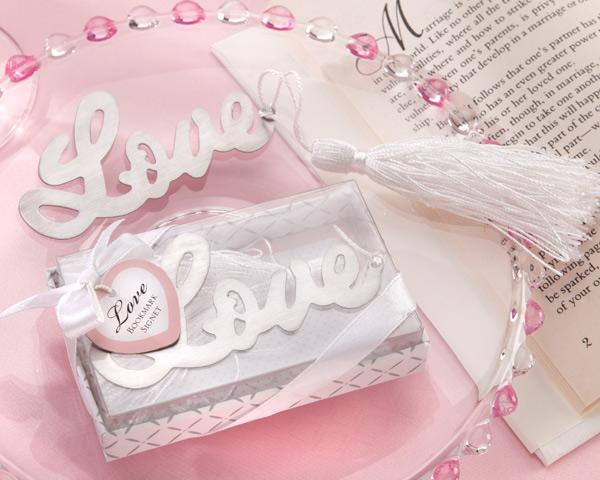 Marca-Páginas My Love - Lembrança para Padrinhos ou Convidados
