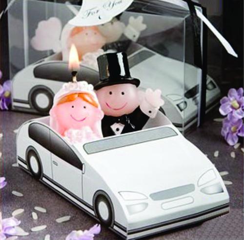 Vela Decorativa Casados - Lembrança para Padrinhos ou Convidados