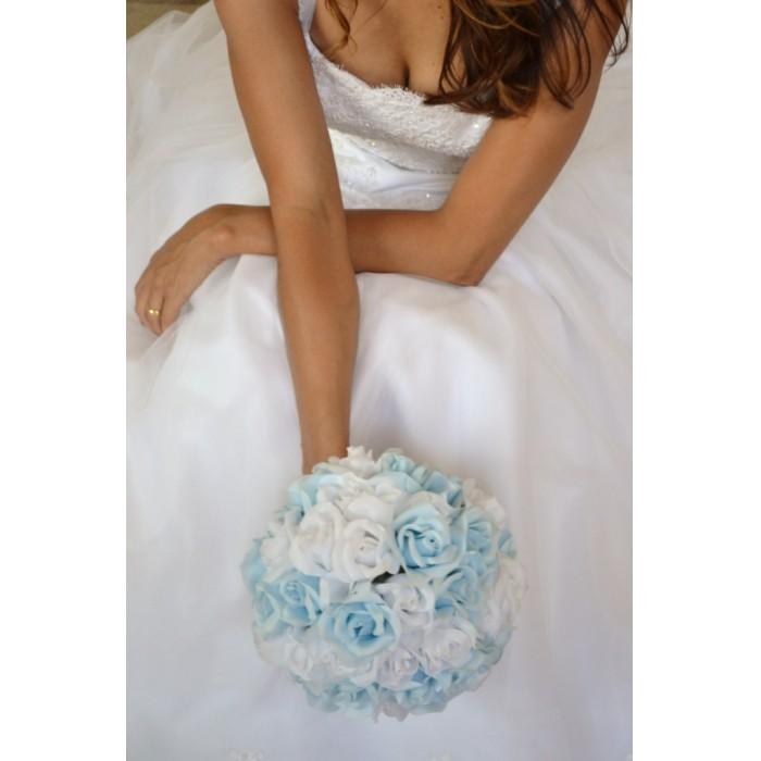 Buquê da noiva - Blue & White