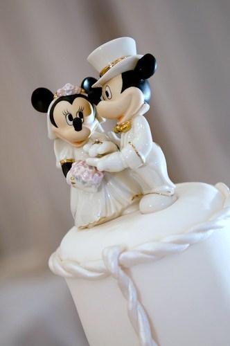 Topo para Bolo - Mickey Porcelana & Cristal