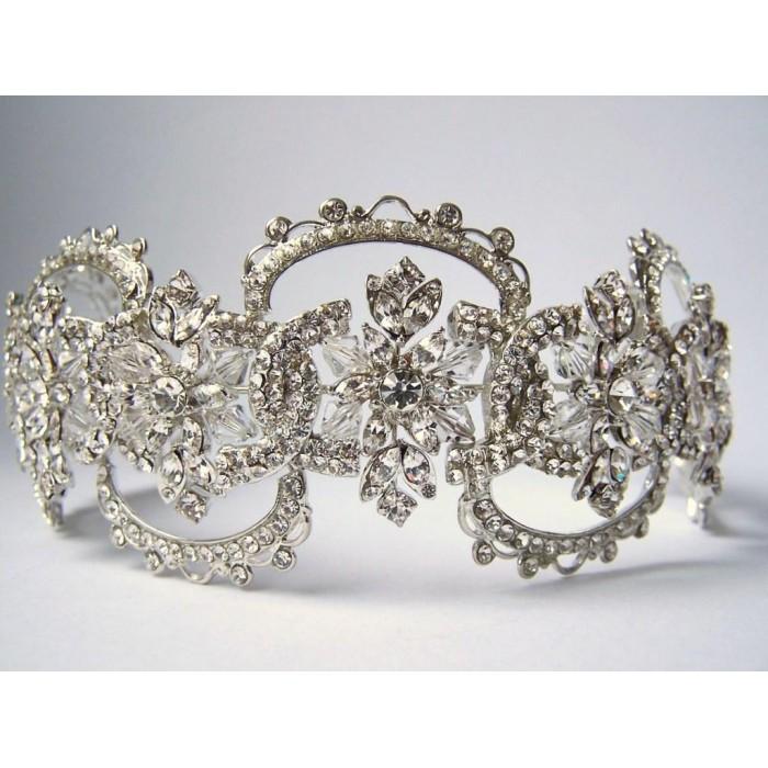 Tiara para noiva - casamento - Encantadora Cristais Swarovski