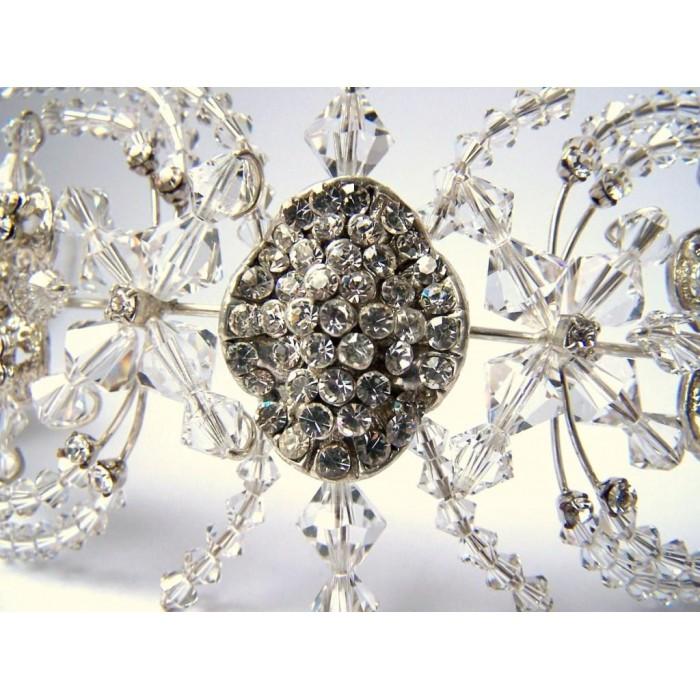 Tiara para noiva - casamento - Pompa - Cristais Swarovski