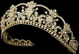 Coroa da noiva - casamento - Magnífica Swarovski