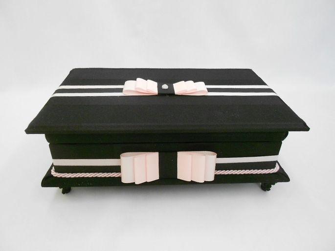 Caixa de toalete - kit de casamento - Primor II