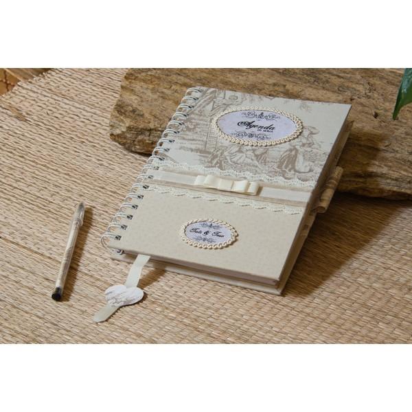 Agenda da noiva - Guia para Casamento - Sweet