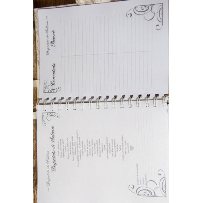 Agenda da noiva - Guia para Casamento - Gorgeous