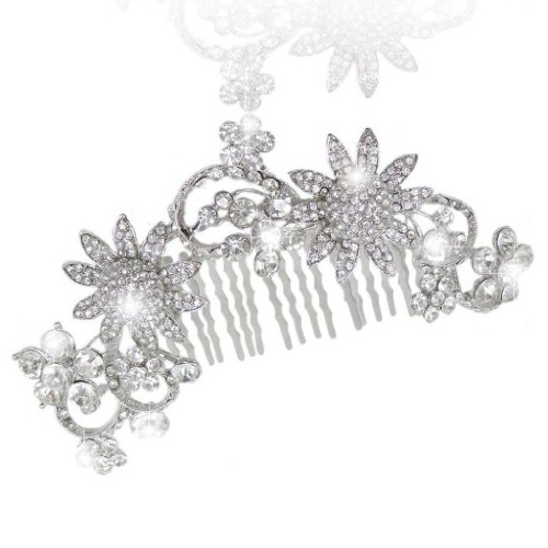 Arranjo para cabelos noiva - casamento - Luxo