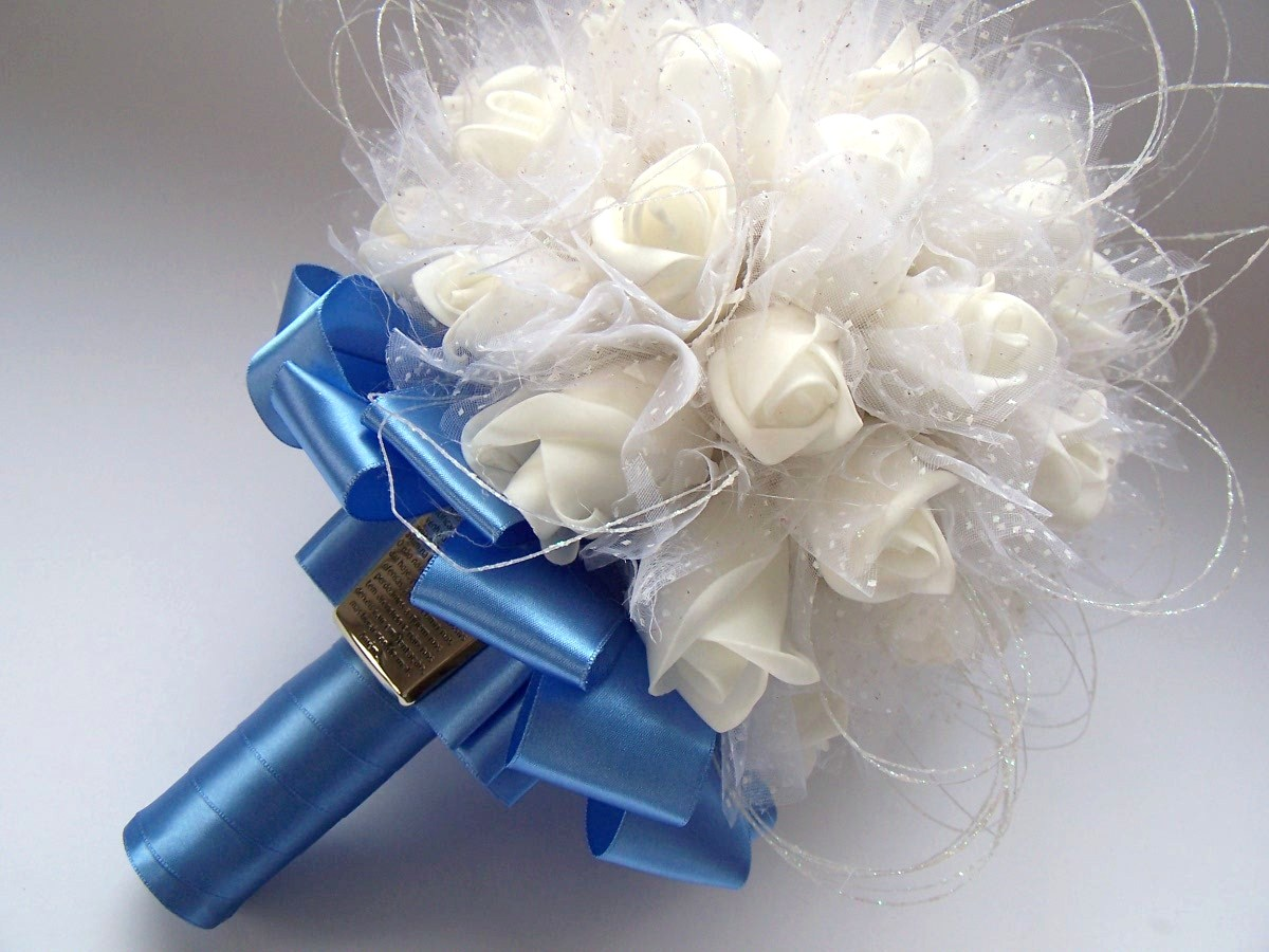 Buquê da noiva - Fé e Amor Pai Nosso