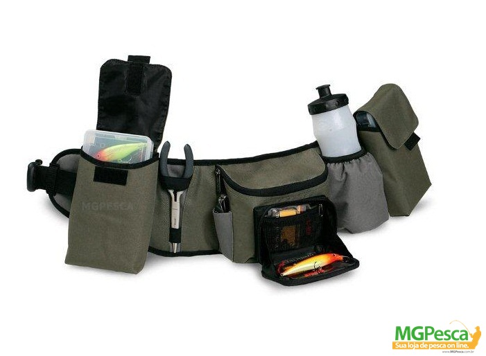 Pochete Rapala Hip Pack 46005-1  - MGPesca