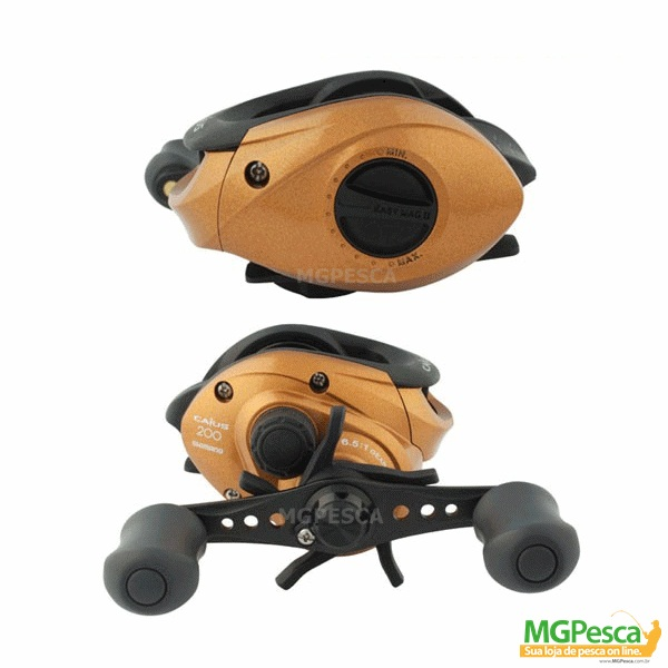 Carretilha Shimano Caius 200 - 201  - MGPesca