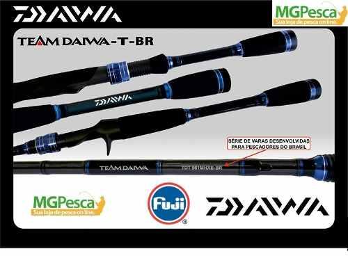 """Vara Team Daiwa T - TDT 6´6"""" (1,98m) 25lbs - TDT661MHXB-BR  - MGPesca"""