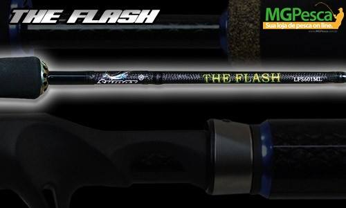 "Vara para carretilha Sumax New The Flash 6"" (1,83m) 25 Lbs - LTF-601MH - MGPesca"