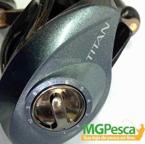 Carretilha Marine Sports Titan GTO 6000  - MGPesca