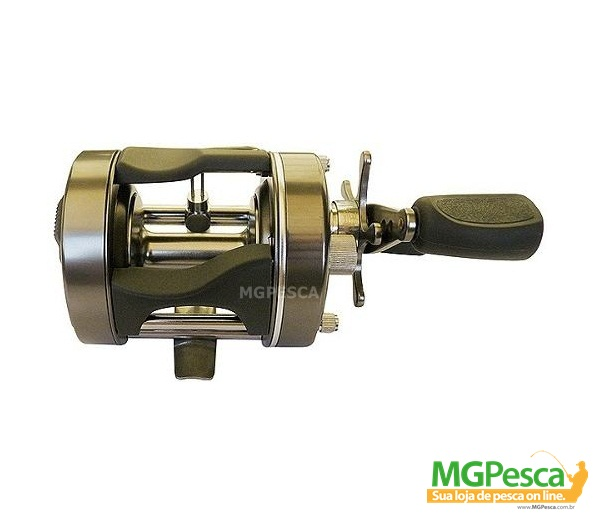 Carretilha Marine Sports Caster Plus 400 - 400L 6bil  - MGPesca