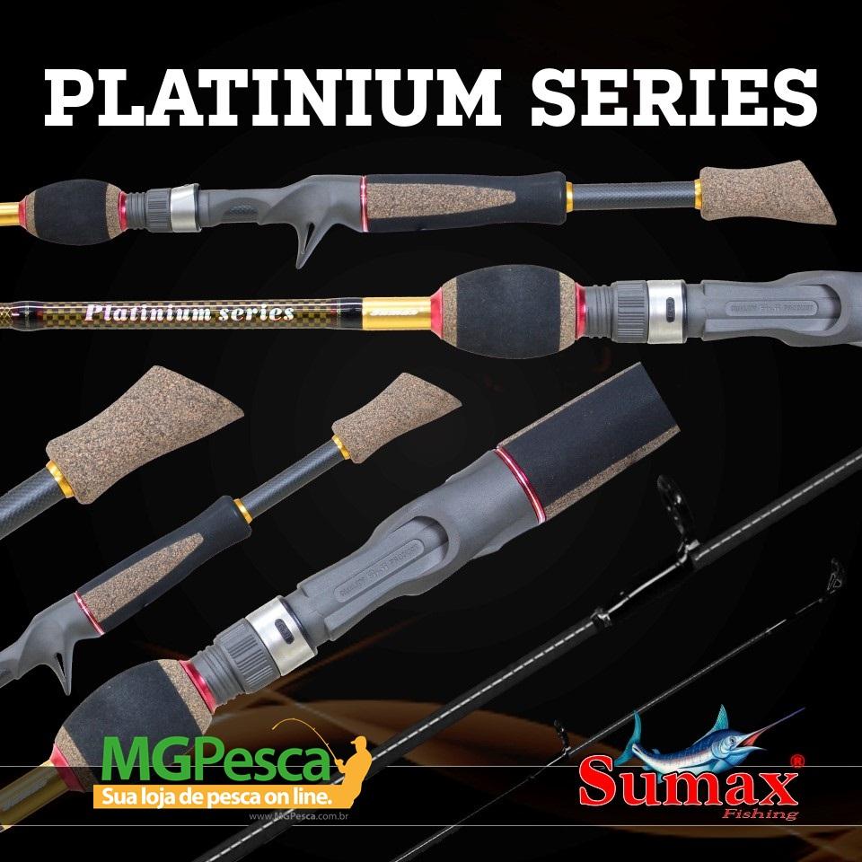 "Vara Sumax Platinium 5´3"" (1,60m) 14lbs - LPS-531MLC  - MGPesca"