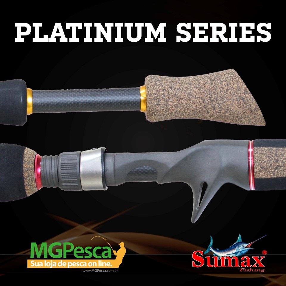 "Vara Sumax Platinium 5´6"" (1,68m) 20lbs - LPS-561MHC  - MGPesca"