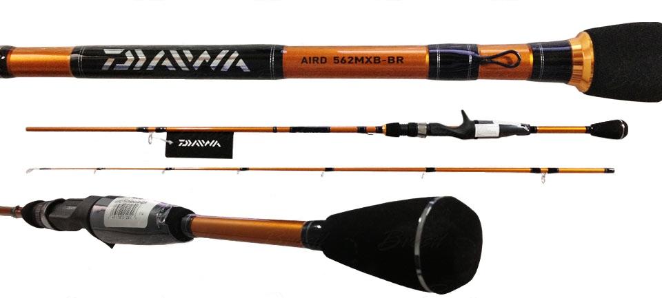 """Vara Team Daiwa Aird 5´6"""" (1,68m) 25Lbs - AIRD561MHXB-BR  - MGPesca"""
