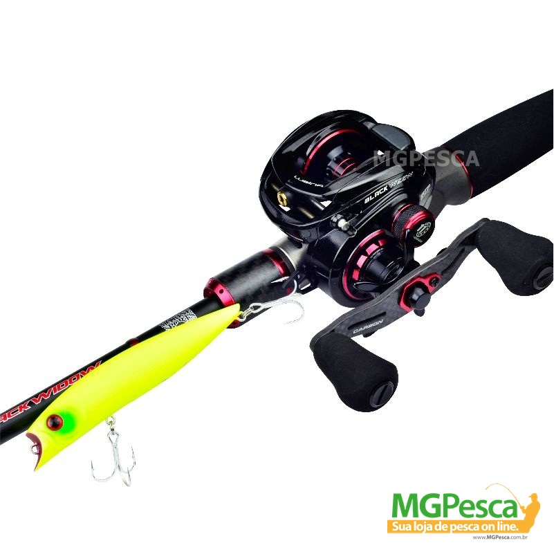 Carretilha Marine Sports Lubina GTS Black Widow - MGPesca