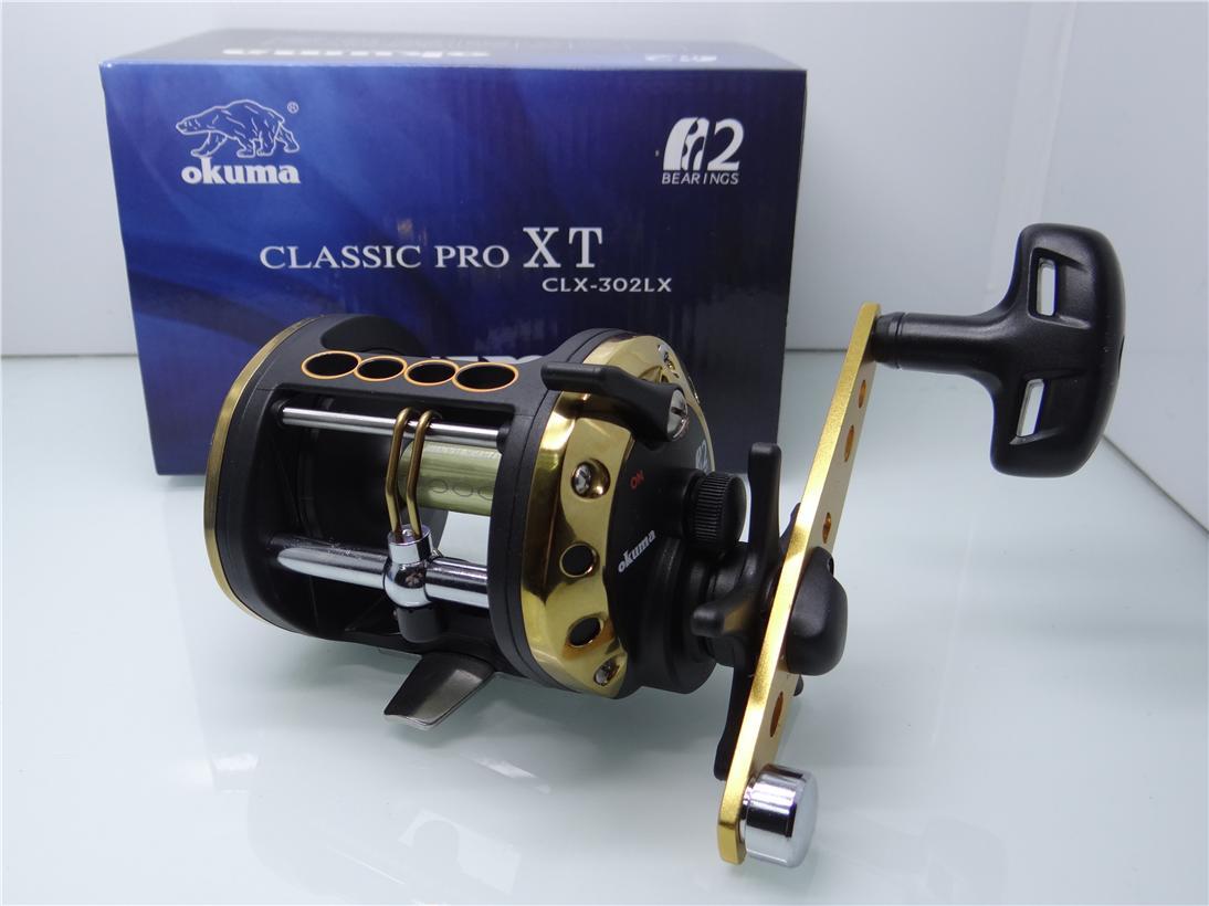 Carretilha Okuma Classic Pro XT CLX-302L - CLX-302LX  - MGPesca