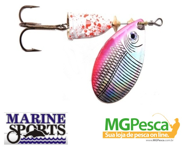 Isca artificial Marine Sports Laser Spinner 7g  - MGPesca