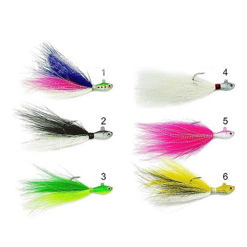 Isca Artificial Marine Sports Streamer Jig By JH - 15g  - MGPesca