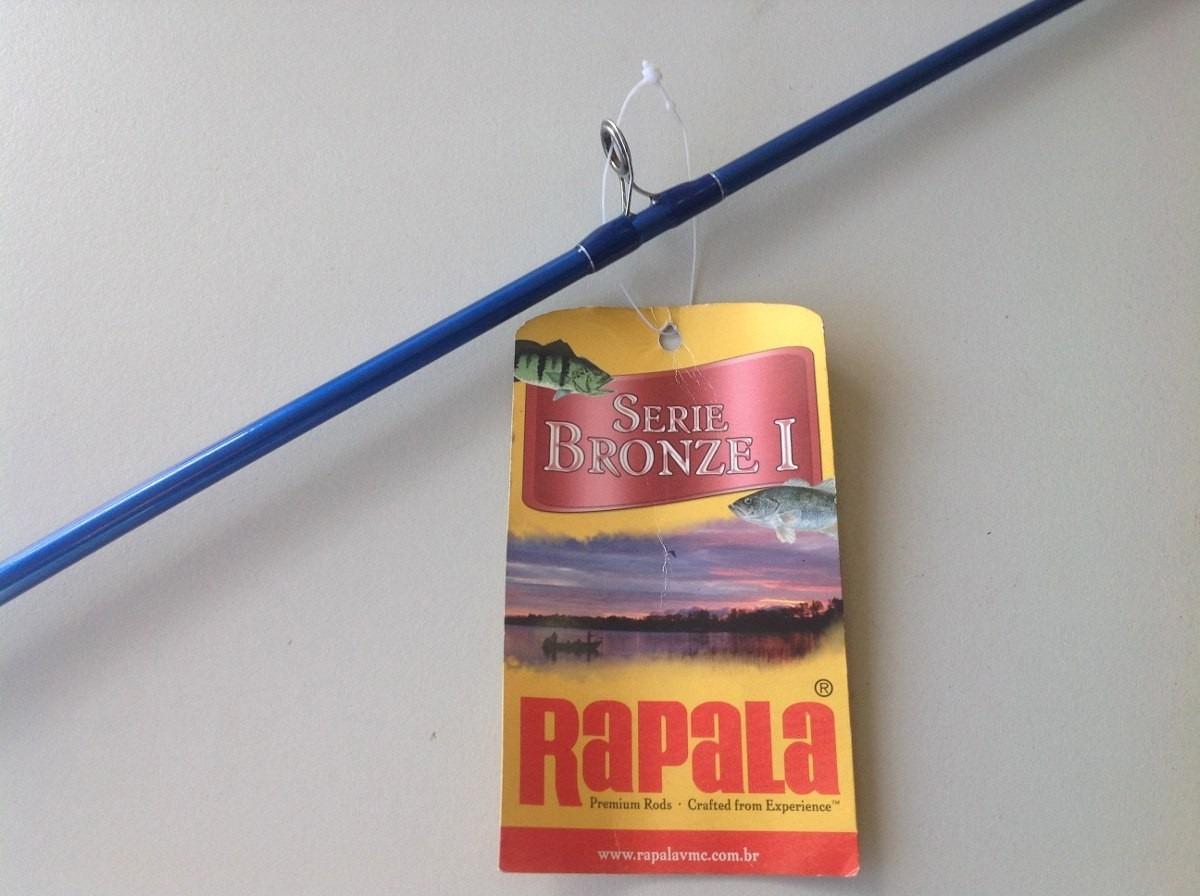 "Vara Rapala Bronze I  5´6"" (1,68m) 25Lbs - RPBB56CHP  - MGPesca"