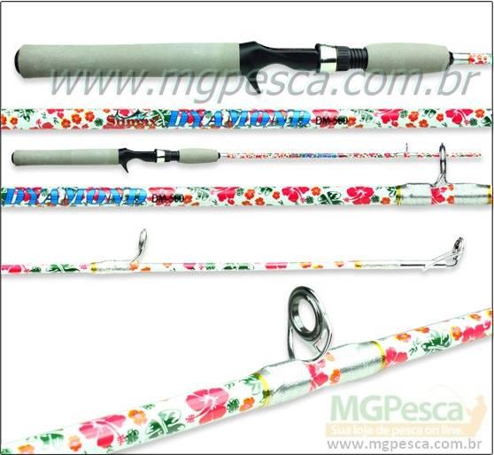 "Vara Sumax Dyamond 5´6"" (1,68m) 17Lbs - DM560 - Para carretilha  - MGPesca"