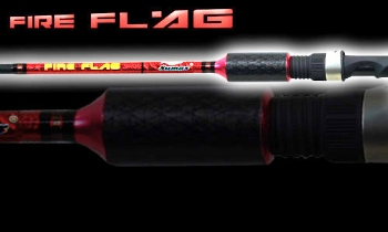 "Vara Sumax Fire Flag 5�6"" (1,68m) 14Lbs - LFG561MLC - Para Carretilha  - MGPesca"