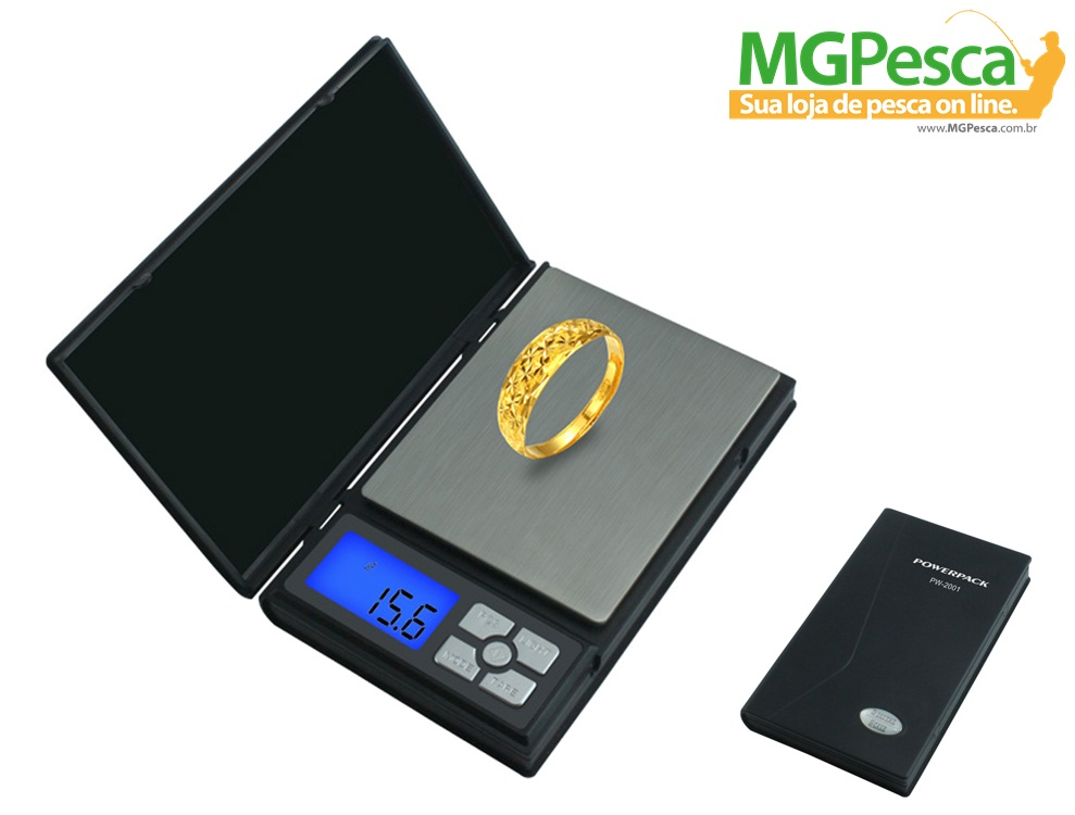 Balança de Precisão Mini Powerpack PW-2001  - MGPesca