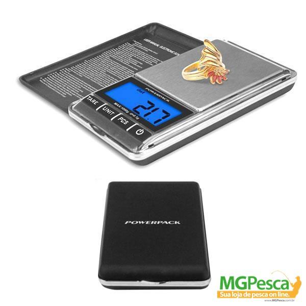 Balan�a de Precis�o Mini Powerpack PW-1001  - MGPesca