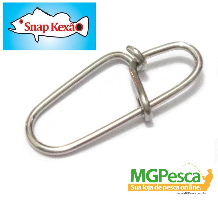 Snap Artesanal Kexão 80 Lbs - Pacote com 10 unidades  - MGPesca