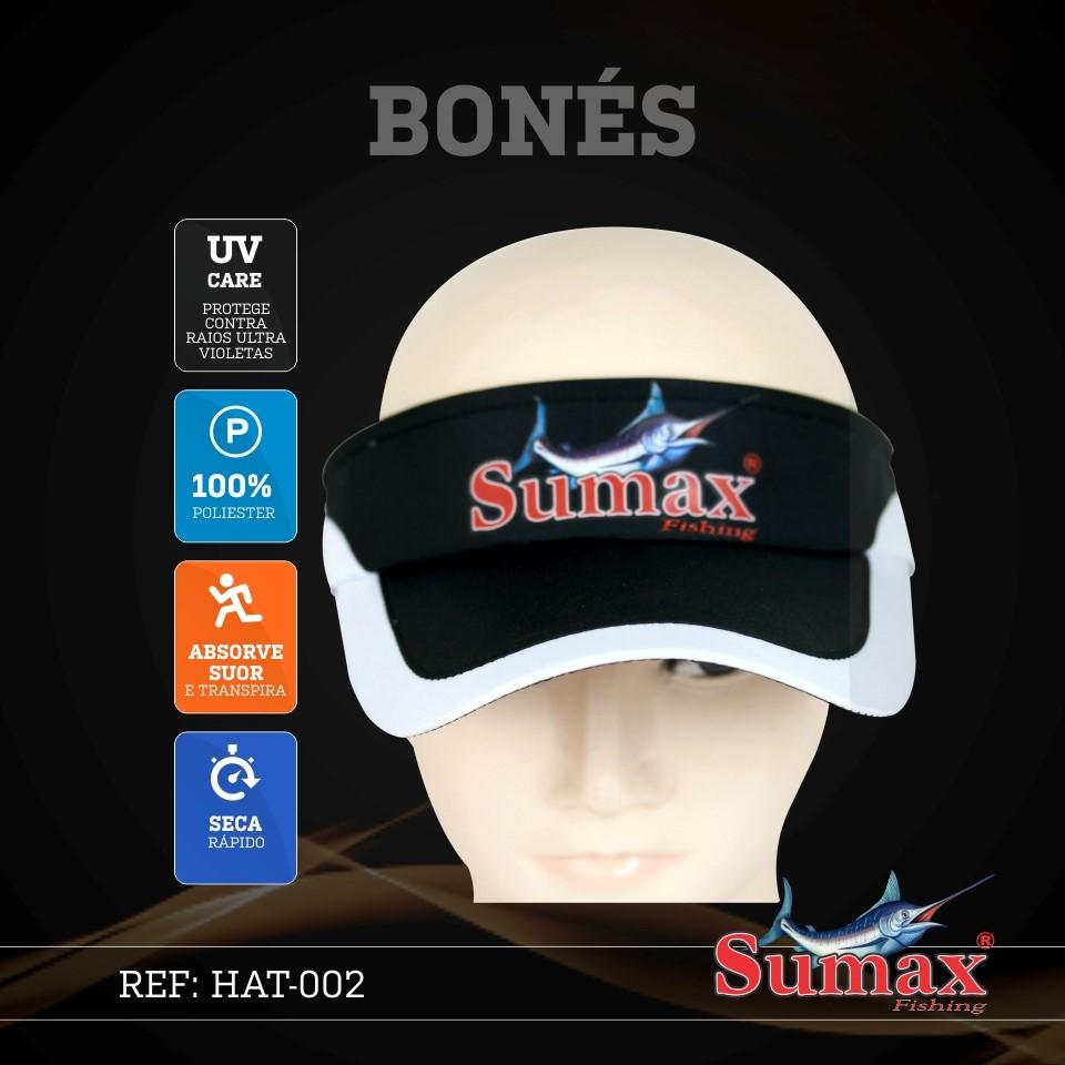 Boné / Viseira Sumax - HAT-002  - MGPesca
