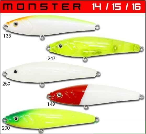 Isca Artificial Century Monster 15  - MGPesca