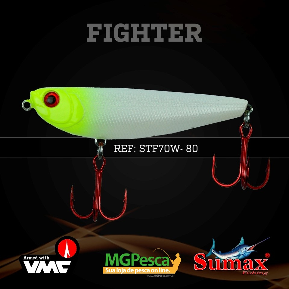 Isca Artificial Sumax Fighter Pencil 70DW  - MGPesca